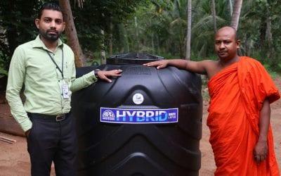 ඔක්කම්පිටිය, ගල්ටැම්මණ්ඩිය විහාරස්ථානයට වතුර ටැංකියක් පරිත්යාග කිරීම (Donating a Water Tank)